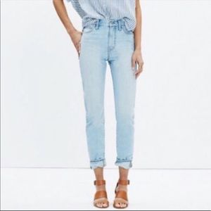 EUC Madewell The Perfect Summer Jean